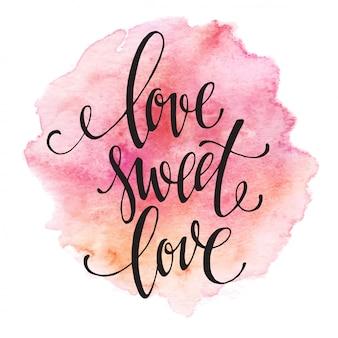 Letras amor doce amor