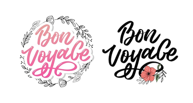 Letras bon voyage