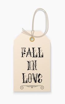 Letras caem no amor