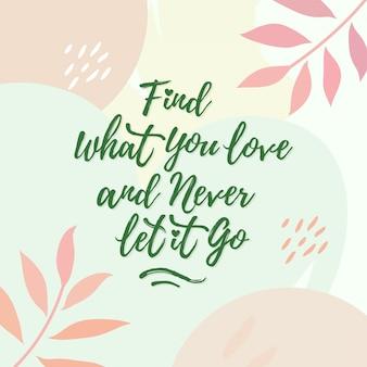 Letras citação amor