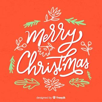 Letras coloridas de feliz natal