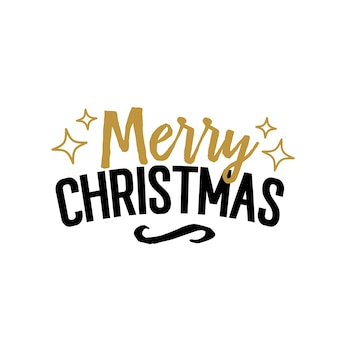 Letras criativas do feliz natal