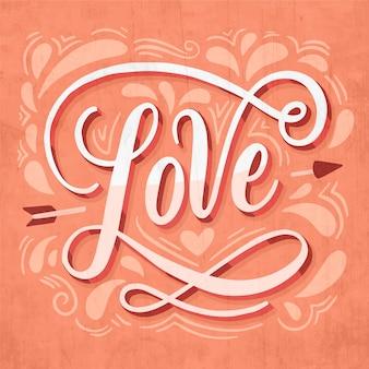 Letras de amor e arroes pontudos