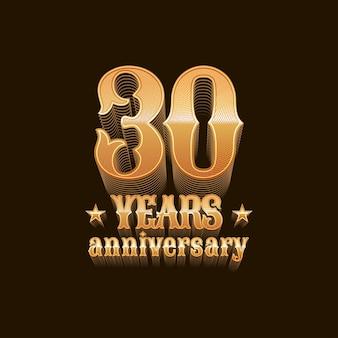 Letras de aniversário de 30 anos