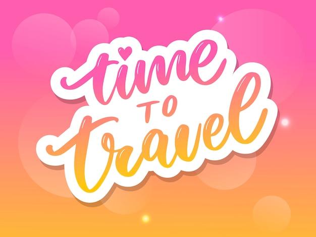 Letras de citação de inspiração de viagens
