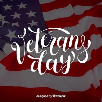 Letras de dia dos veteranos com foto