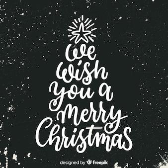 Letras de feliz natal fofo