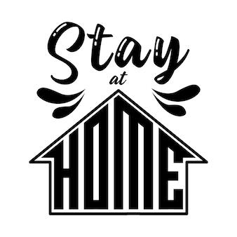 Letras de ficar em casa
