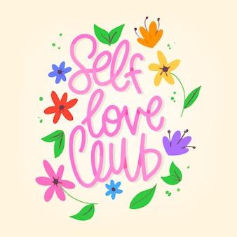 Letras de flores amor próprio