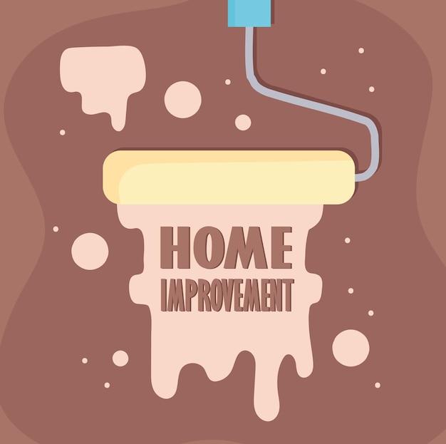 Letras de melhoramento da casa