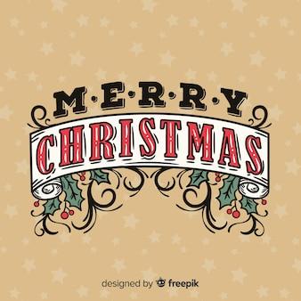 Letras de natal feliz com visco