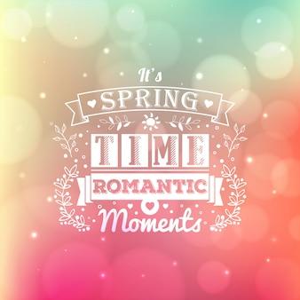 Letras de tipografia vintage com ornamentos florais