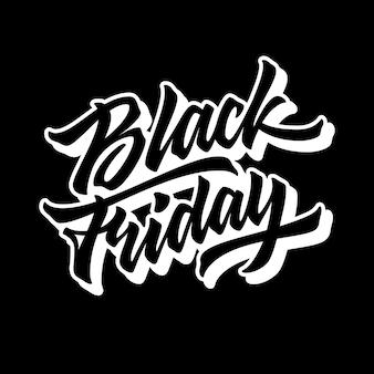Letras de venda sexta-feira negra