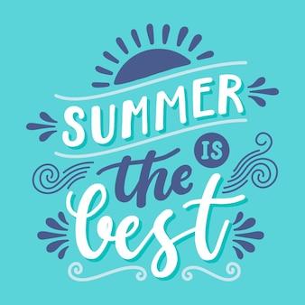 Letras de verão