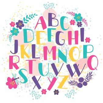 Letras desenhadas à mão