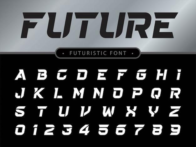Letras do alfabeto definido para tecnologia