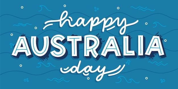 Letras do dia da austrália