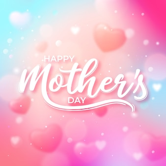 Letras do dia das mães turva