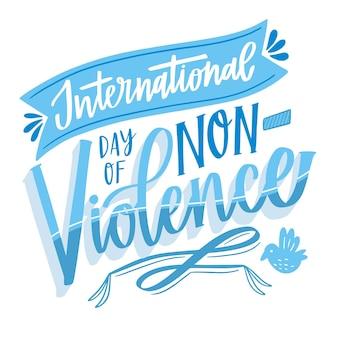 Letras do dia internacional da não violência