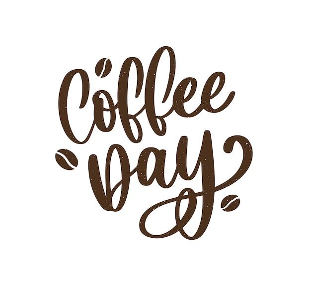 Letras do dia internacional do café