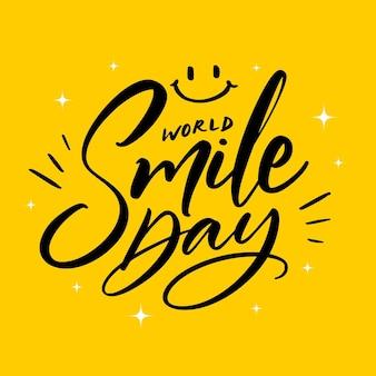 Letras do dia mundial do sorriso