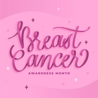 Letras do mês de conscientização do câncer