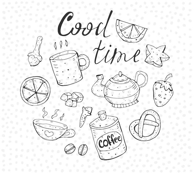 Letras dos elementos cood time