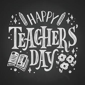 Letras feliz dia dos professores