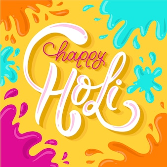 Letras festival feliz holi