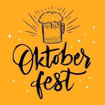 Letras festival oktoberfest
