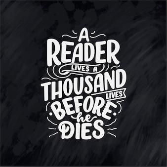 Letras manuscritas sobre livros e leitura