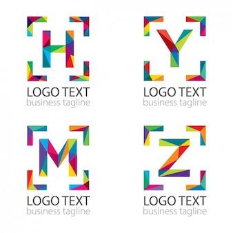 Letras modernas logotipo