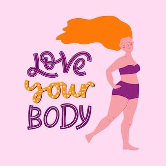 Letras positivas do corpo