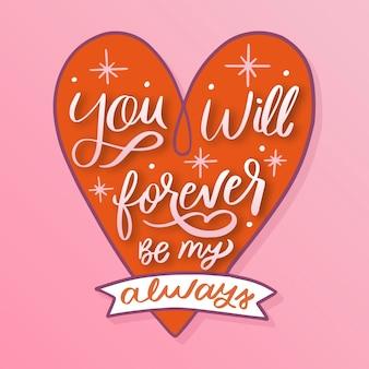 Letras românticas para o dia dos namorados
