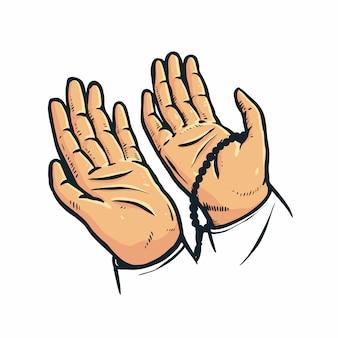 Levante sua mão em oração