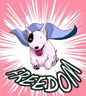 Liberdade cão