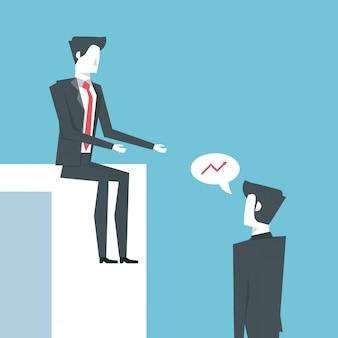 Líder de negócios e empreendedor