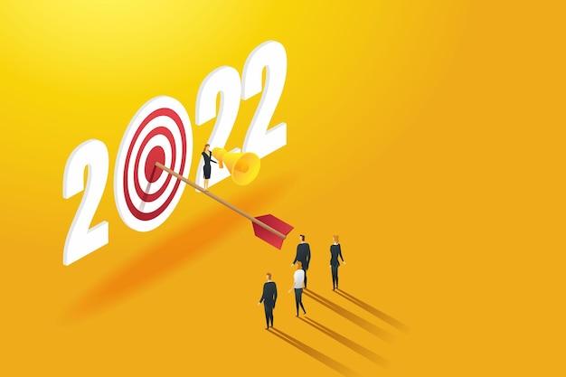 Líder executiva anuncia que liderará uma equipe de sucesso para atingir as metas de 2022