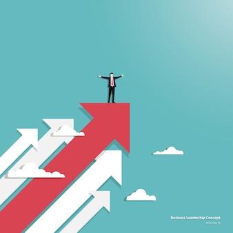 Liderança no conceito de negócio
