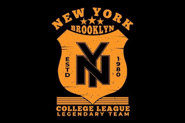 Liga da faculdade de brooklyn new york