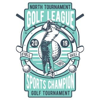 Liga de golfe