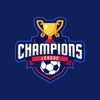 Liga dos campeões american logo sport