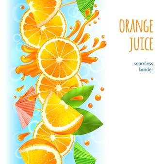 Limite de suco de laranja