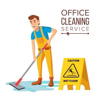 Limpador de escritório profissional