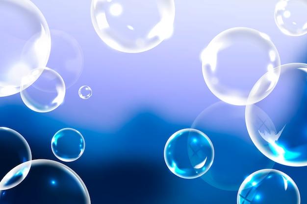 Limpar bolhas de sabão