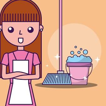 Limpeza de lavanderia relacionada