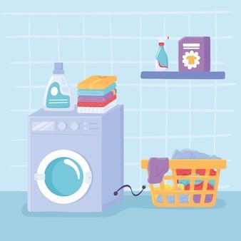 Limpeza de lavanderia