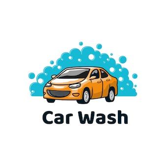 Limpeza de reparos detalhados para lavagem de carro