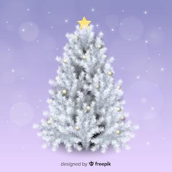 Linda árvore de natal realista