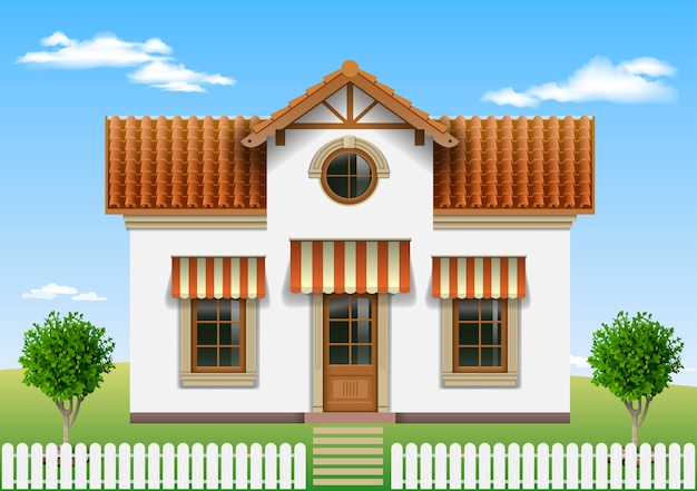 Linda casa pequena